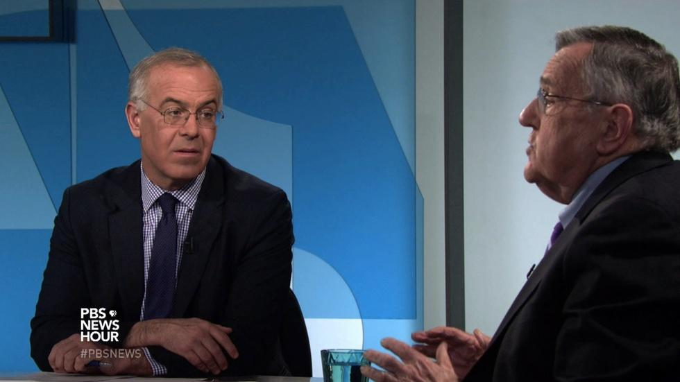 Shields and Brooks on Obama's year-end assessment image