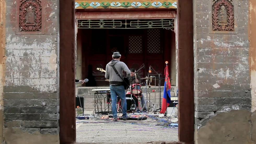 In Mongolia, rock 'n' roll with a historical perspective image