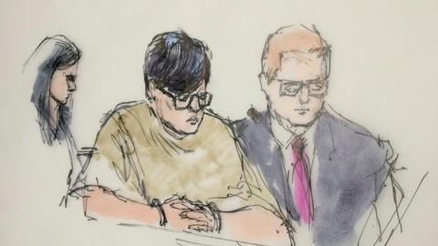 PBS NewsHour -- News Wrap: San Bernardino weapons suspect held without bond
