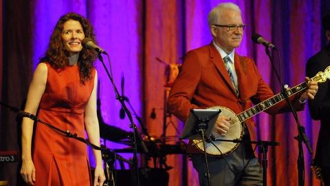 PBS NewsHour -- Steve Martin, Edie Brickell team up for Broadway musical
