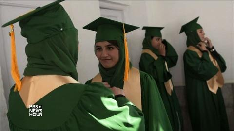 PBS NewsHour -- A day of pride for Afghan girl grads amid growing threats