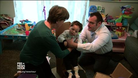 PBS NewsHour -- For disabled children, making the world a custom fit