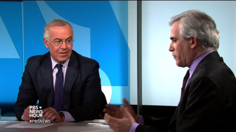 Brooks and Corn on Obama confronting gun control image