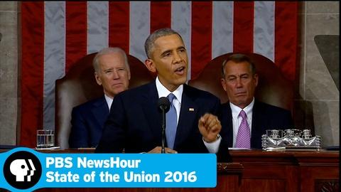 PBS NewsHour -- State of the Union 2016