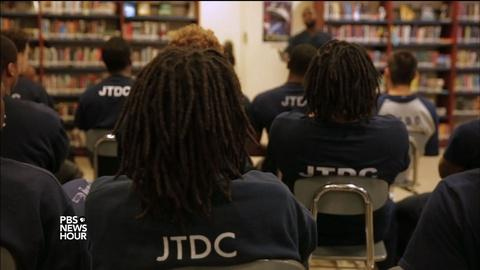 PBS NewsHour -- Poetry helps youth at a juvenile detention center find peace