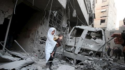 PBS NewsHour -- Why has it been so hard to get aid to Syrians under siege?