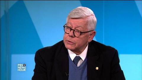 PBS NewsHour -- Former NRA president on Obama's background check plan