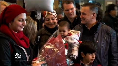 PBS NewsHour -- Tragic death didn't stop Syrian refugee family's quest