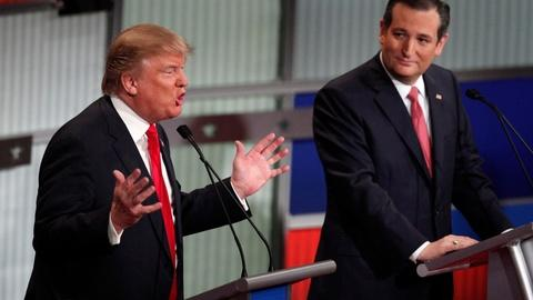 PBS NewsHour -- Iowa looming, GOP candidates go on the attack in debate