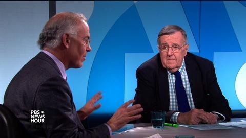 PBS NewsHour -- Shields and Brooks on Trump vs. Cruz