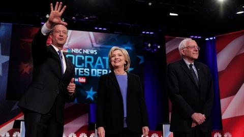 PBS NewsHour -- Democrats define themselves, damage opponents in last debate