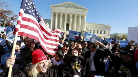 PBS NewsHour -- Fate of Obama's immigration actions goes to Supreme Court