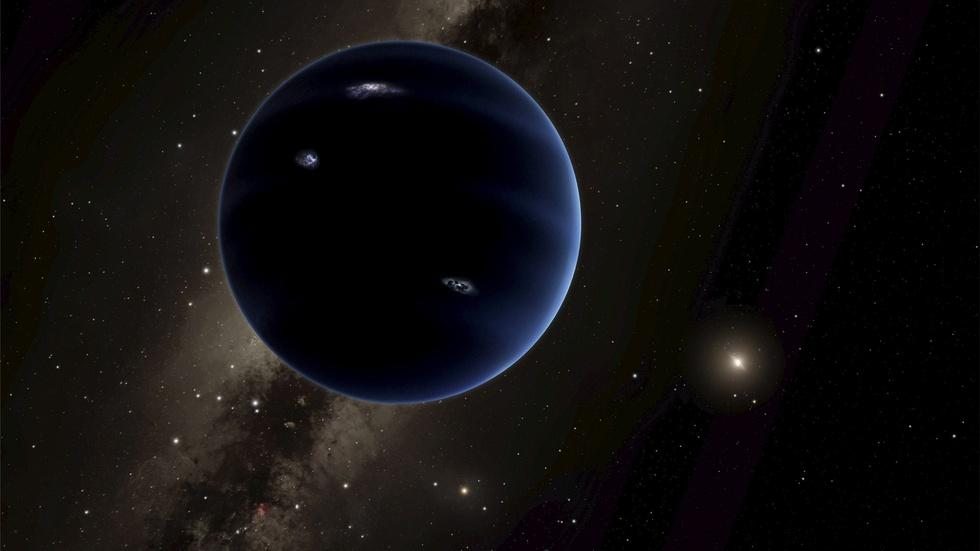 We can't see this possible 9th planet, but we feel it image