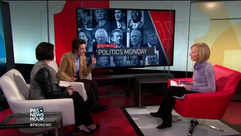 PBS NewsHour -- Can candidates translate enthusiasm into caucus support?