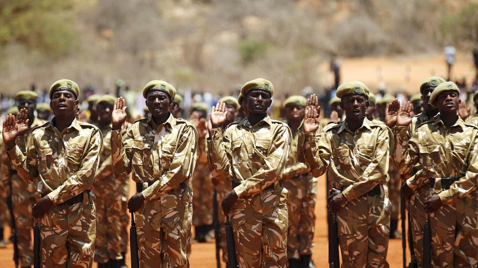 Why wildlife preserves in Kenya resemble war zones image
