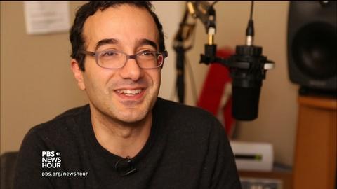 PBS NewsHour -- How Jad Abumrad turned childhood awkwardness into his job