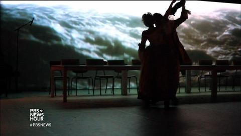 PBS NewsHour -- A dance to change Denmark's minds about refugees