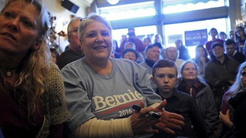 PBS NewsHour -- Between Clinton and Sanders, a tough fight for Iowa women