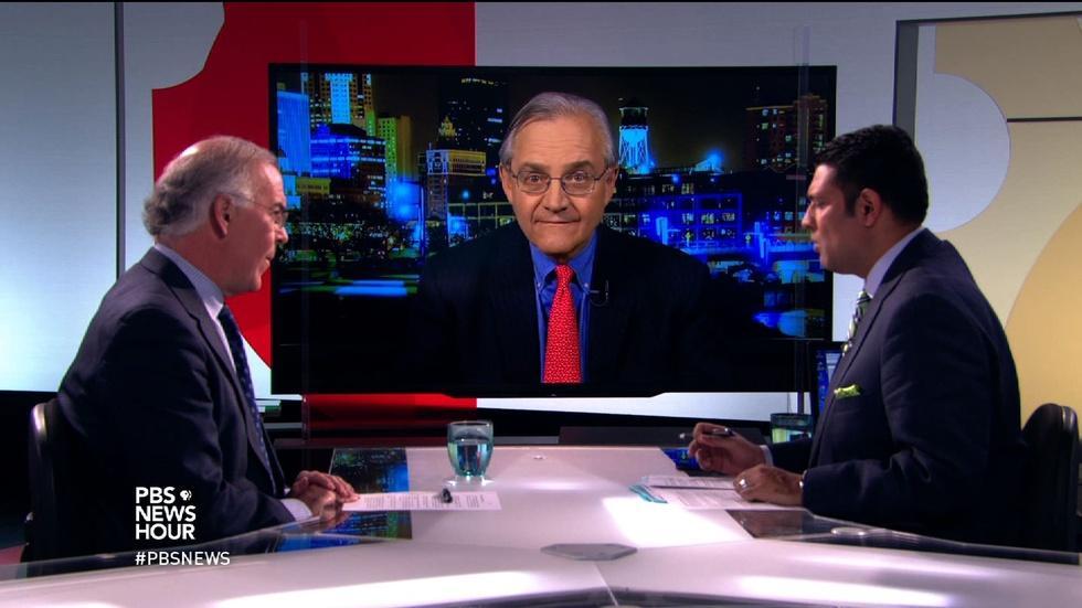 Brooks and Dionne on GOP debate brawls image