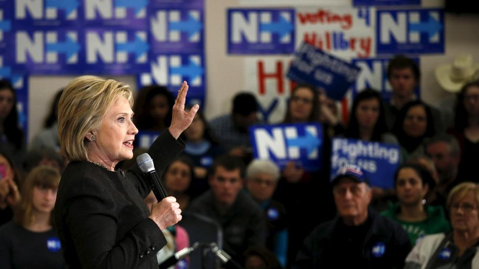 Democrats debate liberal credentials on the trail in N.H. image