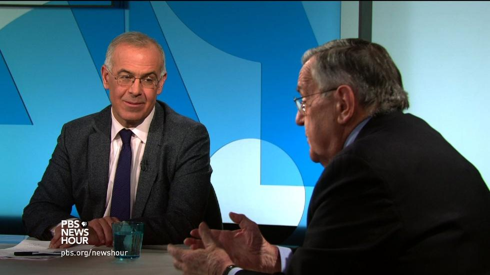 Shields and Brooks on Democrats' fiery debate image