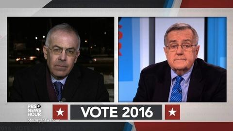 PBS NewsHour -- Shields and Brooks on New Hampshire's primary influence