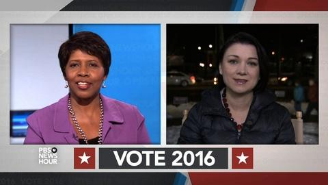 PBS NewsHour -- Which candidates might be worried about N.H. outcomes