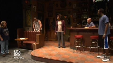PBS NewsHour -- Steelworkers' stories come to life onstage in 'Sweat'