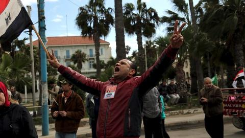 PBS NewsHour -- Egypt's opposition forcibly muted 5 years since revolution