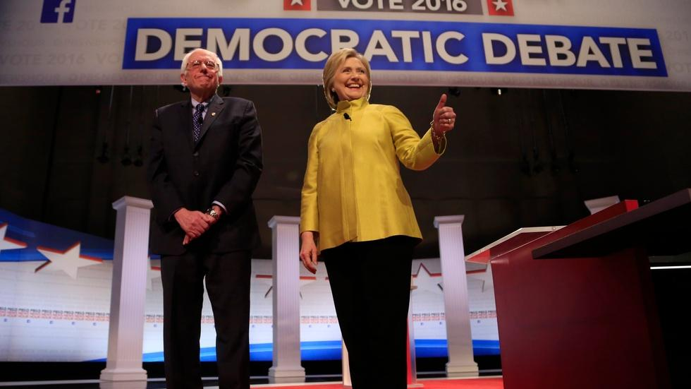 PBS NewsHour Democratic Debate image