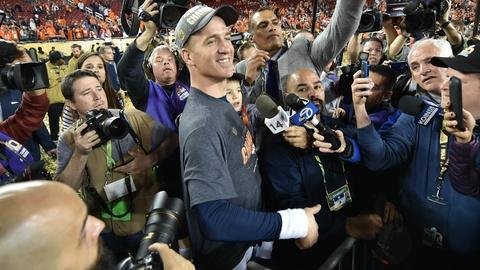 PBS NewsHour -- Peyton Manning under scrutiny over old sexual assault claims