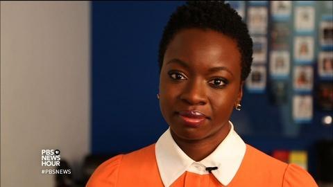 PBS NewsHour -- Why Danai Gurira writes complex stories about African women