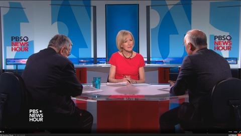 PBS NewsHour -- Shields and Brooks on Trump v. Pope, Scalia's successor