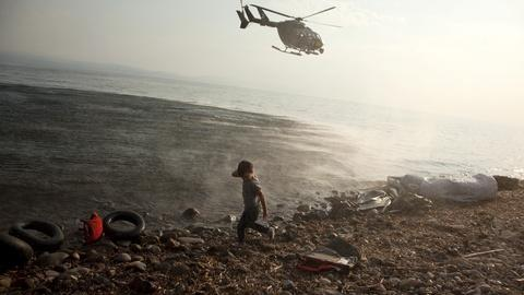 PBS NewsHour -- NATO and EU step up refugee rescue efforts in Aegean Sea