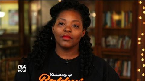 PBS NewsHour -- Poet Mahogany L. Browne on 'black girl magic'