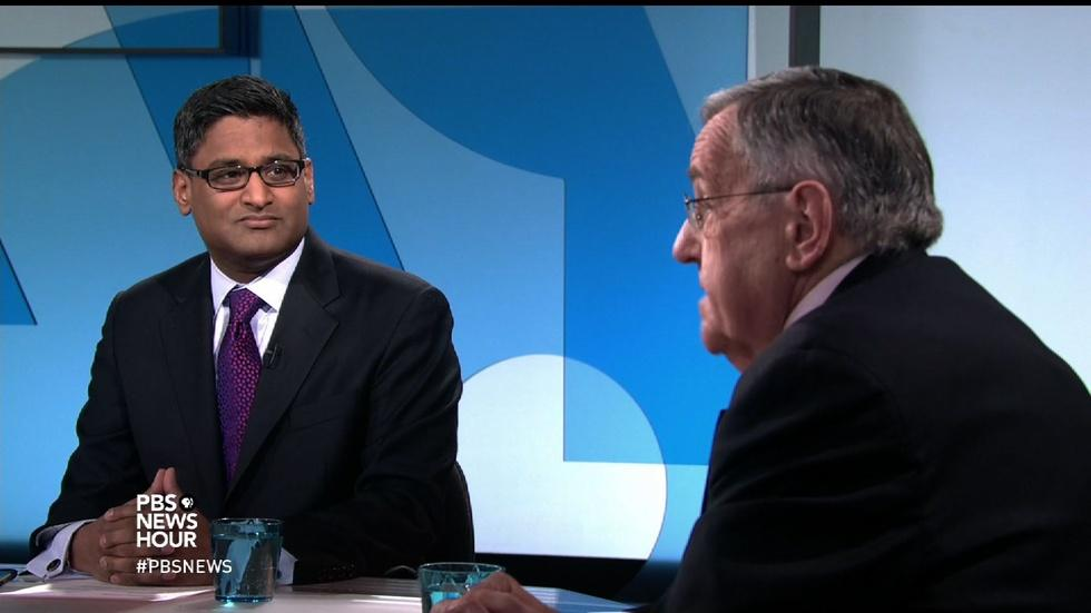 Shields and Ponnuru on Christie endorsing Trump, GOP debate image