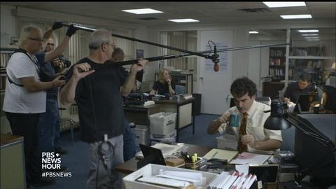 PBS NewsHour -- Film about investigative journalism nabs top Oscar
