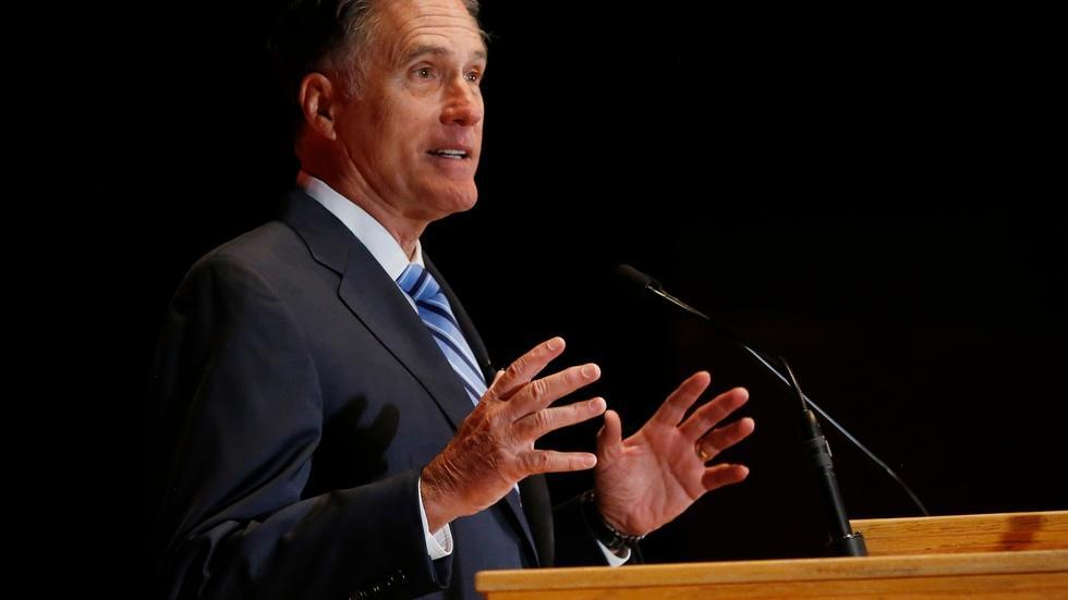 Mitt Romney's full speech: 'Trump is a phony, a fraud' image