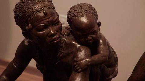 PBS NewsHour -- In new exhibit, Chicago museum reinstates old sculptures