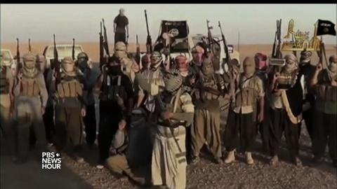 PBS NewsHour -- ISIS is recruiting more children to carry out massacres