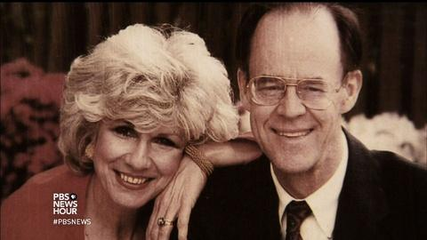 PBS NewsHour -- Diane Rehm shares the painful story of her husband's death