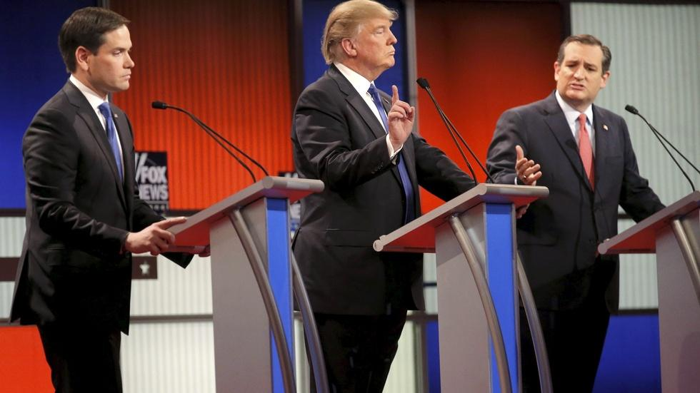 Rubio, moderators push back on Trump's policy assertions image
