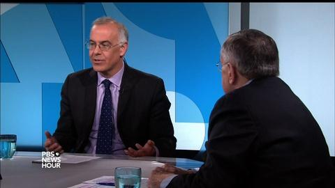 PBS NewsHour -- Shields and Brooks on the surprisingly tranquil GOP debate