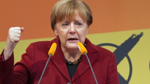 PBS NewsHour -- Merkel suffers setback in German referendum