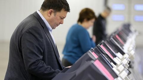 PBS NewsHour -- What's the outlook for heated primaries in FL, OH and IL?