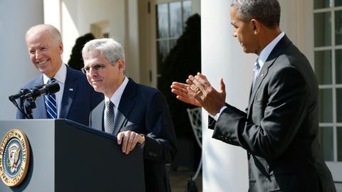 PBS NewsHour -- Defying GOP, Obama chooses D.C. judge for SCOTUS