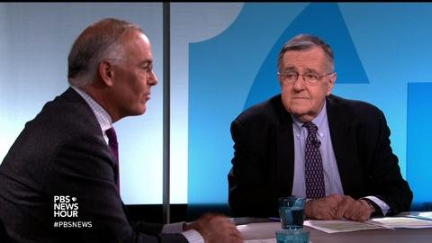 PBS NewsHour -- Shields and Brooks on blocking Trump and Sanders' chances