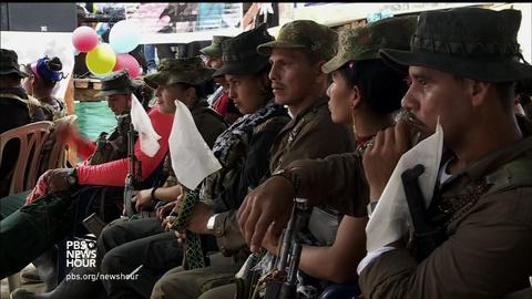 PBS NewsHour -- How FARC rebels are preparing for peace