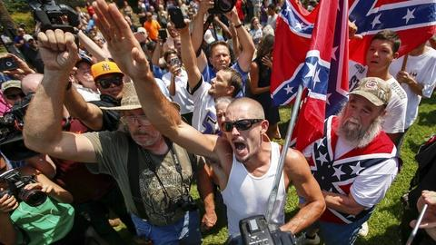 PBS NewsHour -- As racial hate groups rise, strategies to shut them down