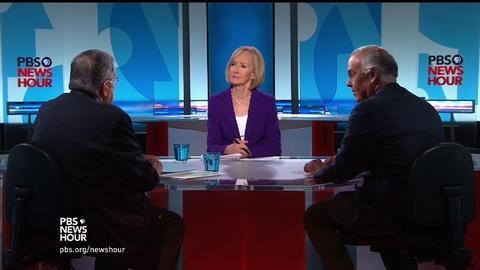 PBS NewsHour -- Shields and Brooks on Trump-Cruz wife feud